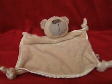 Boots Mini Mode Bertie the Bear Blanket Comforter Blankie Cream Beige 9""