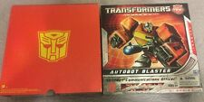 Transformers Universe SDCC 2010 Autobot Blaster G1 Series Commemorative Edition