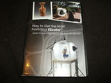 RARE R0 DVD How to Get the Most From Your EZcube Learn Light TENT INSTRUCTIONAL