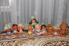 Vintage Doll Set of 10 Moodie Cuties Laughing Crying Dolls & More Lot