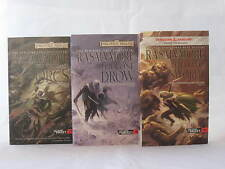 The Hunter's Blade Trilogy / Legend of Drizzt 17-19 in Series by R.A. Salvatore