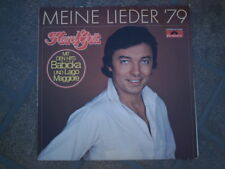 LP KAREL GOTT/ MEINE LIEDER '79: VINYL LP: POLYDOR