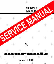 MARANTZ 1300 DC / 1300DC ~  Stereo Console  REPAIR / SERVICE MANUAL booklet