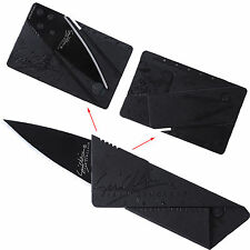 Credit Card-Type Foldable Tactical Pocket Knife Outdoor Emergency Survival Tool