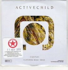 (EP389) Active Child, Subtle - 2013 DJ CD