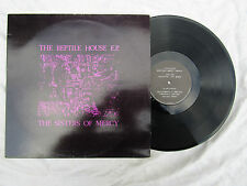 """SISTERS OF MERCY 12"""" THE REPTILE HOUSE E.P. mr023 made in France... 45rpm / rock"""