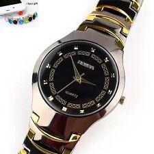 Hot Mens Sport Fashion Stainless Steel Band Quartz Wrist Watch Watches +gift