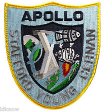 Apollo 10 Mission Embroidered Patch (Official Patch) 11cm x 10cm approx