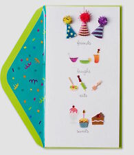 Papyrus Friends Laughs Eats Sweets Birthday Greeting Card