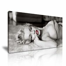 MARILYN Monroe Icona CANVAS WALL ART PICTURE PRINT 60x30cm