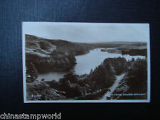 old GB postcard,Loch trool,newton-stewart,A6203,used dd 20 JU 1949,real photo