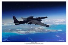 """U-2S Dragon Lady Aviation Art Print - 16"""" x 24"""""""