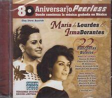 Maria de Lourdes Irma Dorantes 80 Aniversario Peerless 22 Rancheras y Boleros CD