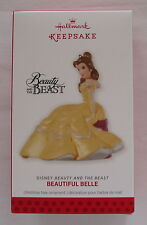 Hallmark 2013 Disney Princess Beauty and the Beast Belle Christmas Ornament