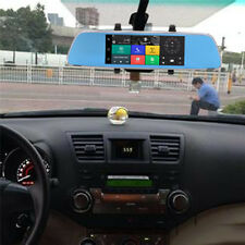 """7""""1080P HD 3G Bluetooth WIFI Car DVR Rearview Mirror Video Recorder Touch Screen"""