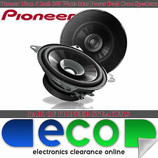 Fiat Punto 99-05 PIONEER 10cm 4 Inch 380 Watts Dual Cone Rear Hatch Car Speakers