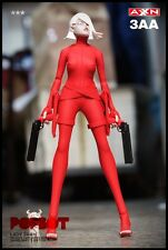 "3A ThreeA Ashley Wood Popbot Lady Sham Red Devil +Puppet 1/6 scale 12""figure MIB"