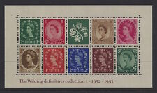 Great Britain 2002 Wilding Definitive MS Stamp Set