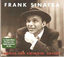 FRANK SINATRA SONGS FOR SWINGIN' LOVERS - 2 CD BOX SET