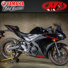 2015 15 YAMAHA YZF-R3 YZF R3 M4 STREET SLAYER CARBON FIBER SLIP ON EXHAUST
