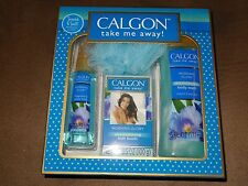 4 Items Calgon Take Me Away Morning Glory Box Set-Body Wash, Mist, & More-New