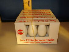 C9 Replacement Bulbs White 120v 7w Outdoor Intermediate Base 20ct 0096 244