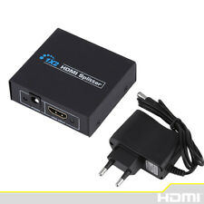 HDCP HDMI Splitter Full HD 1080p Video HDMI Switch In 1X2 Out Split Dual Display