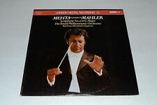 Mehta Conducts Mahler~Symphony No. 4 in G Major~The Israel Philharmonic~IMPORT