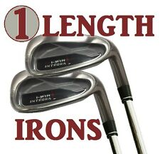 ALL SINGLE LENGTH 37.5 MENS IRONS 5-6-7-8-9-PW-AW-SW FULL 5-SW COMPLETE GOLF SET