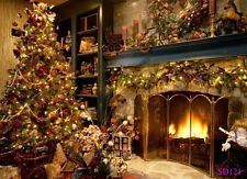 7X5FT Vinyl Christmas Background Backdrops Photo Studio Photography Props SD121