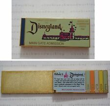 DLR Disneyland HINGED ATTRACTIONS TICKET PIN Disney Cast Member Exclusive LE Pin