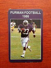CFB 1986 FURMAN PALADINS Football Schedule College FB
