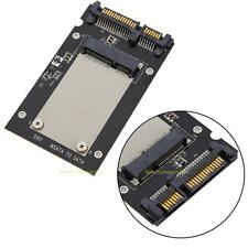 "Mini Pcie PCI-E mSATA SSD to 2.5"" SATA3 Convertor mSATA-SATA Adapter Card Black"