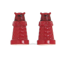 NEW BBC TV DOCTOR DR. WHO RED DALEK ENEMY ROBOT Diecast POST STUD EARRINGS