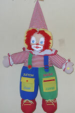 Baby's N Things Musical Light Up Collectible Clown Stuff Doll Toy.
