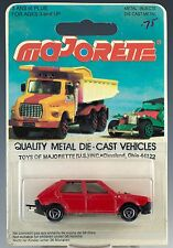 Majorette Die Cast #239 Fiat Ritmo Red MOC Made In France