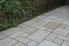 Kandla Grey Indian Sandstone Paving Slabs - 16.60m2 Patio Flags Garden Slabs