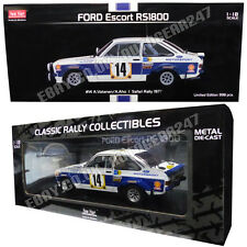 Ford Escort RS1800 #14 A.Vatanen/A.Aho Safari Limited Edition 1:18 Diecast Model