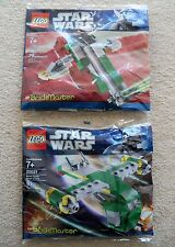 LEGO Star Wars - Rare - Brickmaster - Bounty Hunter 20021 & Slave I 20019 - New