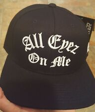 Starter Black Label Snapback Hat 2pac all eyez on me