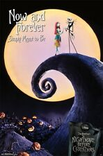 NIGHTMARE BEFORE CHRISTMAS MOVIE POSTER Now and Forever Poster 22x34