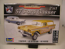 REVELL 1:25 SCALE 1957 FORD STATION WAGON GASSER  DRAG CAR 2N1 PLASTIC KIT
