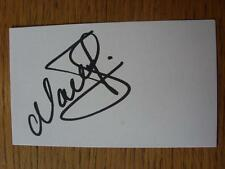 50's-2000's Autographed White Card: Perry, Mark - Queens Park Rangers
