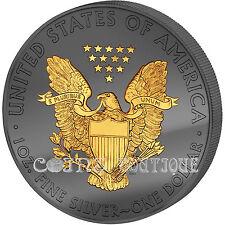 American Eagle Golden Enigma 1oz silver coin 30 Anniv. Premium Edition USA 2016