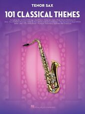 101 Classical Themes for Tenor Sax Instrumental Solo Book NEW 000155319