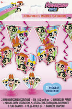 POWERPUFF GIRLS ROOM DECORATING KIT (7pc) ~ Birthday Party Supplies Blossom Pink