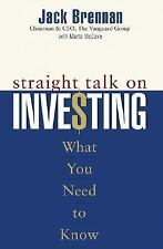 Straight Talk on Investing : What You Need to Know by Marta McCave and Jack Bren