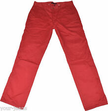 Tommy Hilfiger Jeans  Chino  W38 L34  Rot  Vintage