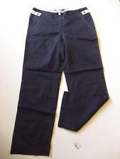 "New MURPHY & NYE  3/4 Length Still-Life Canvas Trousers, Blue Size 28""x26.5"" B33"