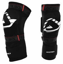 ACERBIS SOFT 2.0 KNEE GUARDS ARMOUR ADULT PROTECTION RACE MX ENDURO BMX ATV